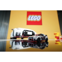 Just like the engine of the life-size Nissan GT-R NISMO is hand-assembled by master craftsmen called 'takumi,' the LEGO® version must also be hand assembled – by expert brick-builders: children.