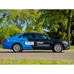 Delphi Technologies Intelligent Driving Car with TomTom