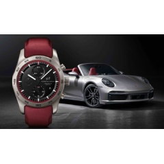 Porsche Design custom-built timepieces concept, 911 Turbo S Cabriolet, 2020, Porsche AG