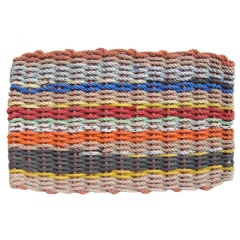 The Original Colors of Maine Lobster Rope Doormat