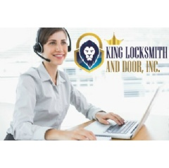 Contact King Locksmith And Doors 24-Hours A Day, 7 Days A Week.