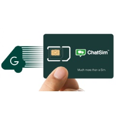 ChatSim World speed exchanging content over 4G networks!