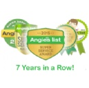 Arundel Cooling, Heating and Electrical Recognized with Angie�s Super Service Award 7 Years in a Row