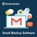 Easy Gmail Backup with New Handy Backup Software