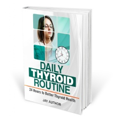 Book cover of Daily Thyroid Routine