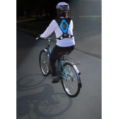 Active Glow is much more than a safety vest. Bikers love it as a motorcycle safety vest. Runners love it as a reflective running vest. Sports fans lov