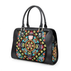 Fricaine See Fancy Embroidered Exotic Bag