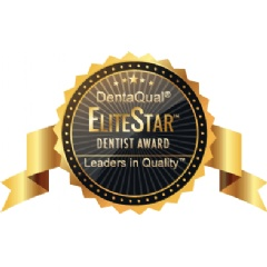The inaugural DentaQual® EliteStar™ Dentist Award recognizes the top dentists in the U.S.