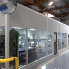 Interior Modular Office Building