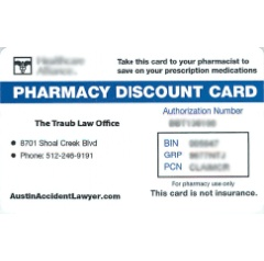 Pharmacy Discount Card