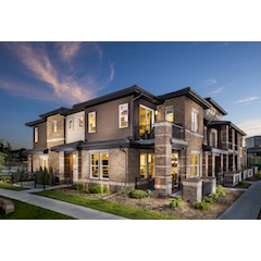 "Godden|Sudik Architects earned 6 awards overall, including 4 ""Design of the Year"" awards, at the Denver MAME 2016 Awards, presented October 1, 2016. Pictured is Caley Ponds, Winner of ""Attached Home of the Year."""