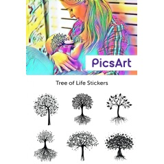 Make beautiful Tree of Life images with free stickers from PicsArt