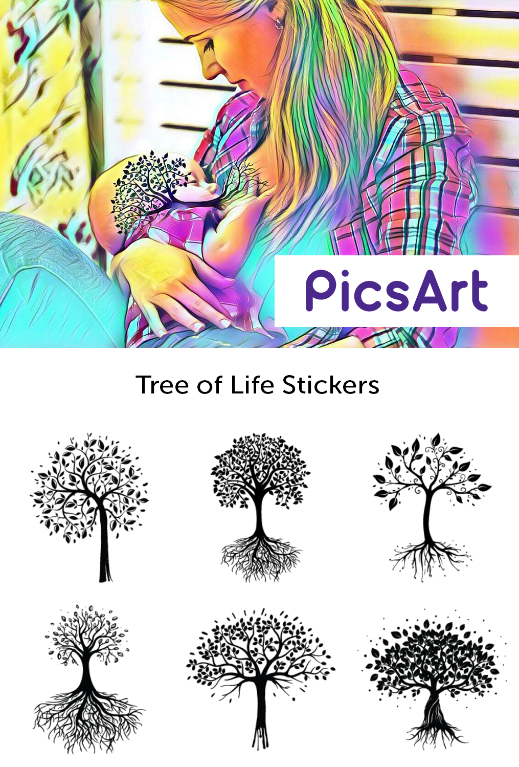 how to create a sticker on picsart