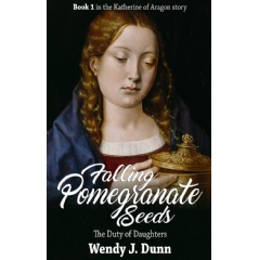"""Falling Pomegranate Seeds,"" published by MadeGlobal.com, tells the story of Katherine of Aragon's early childhood."