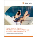 25% of Travel App Users Will Abandon Bookings for a Competitor's App When Faced with a Network Error, Neumob Survey Finds
