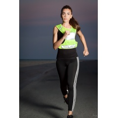 Just Active Reflective Running Vest in Use