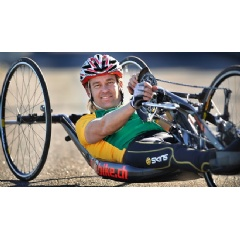 Nigel Barley was only 26 years old when he suffered a permanent spinal cord injury (SCI) and became a paraplegic. Since the accident, he has competed around the globe against the world's best, and won silver at the London Summer Paralympics.