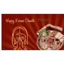 Ferns N Petals gives a traditional touch to all of its Karwa Chauth Gifts