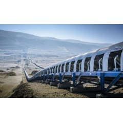 thyssenkrupp belt conveyor systems are individually planned and constructed to ensure the best possible solution for every material, every climate zone and, every topography.