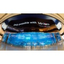 LG Unveils World's Largest OLED Screen in Dubai