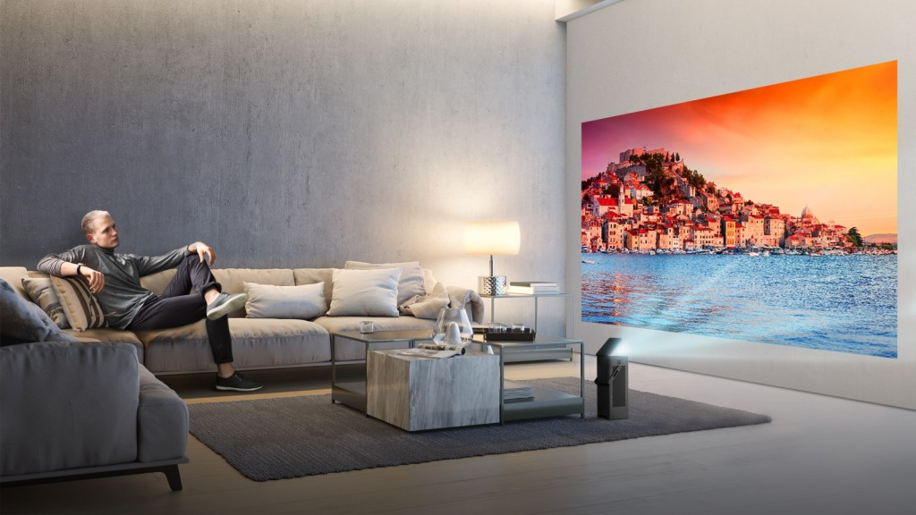 LG announces a 4K UHD projector that will debut at CES