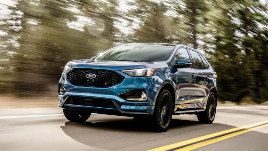 Crossover gets hot-hatch thinking, more tech — Ford Edge ST