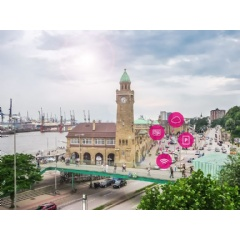 Hamburg gets new sensor network for digital parking management.