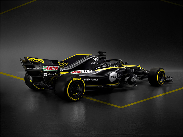Renault unveils 2018 F1 vehicle