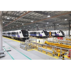 Transport for London (TfL) exercises option for an extra 5 BOMBARDIER AVENTRA trains