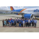 Allegiant receives its first U.S.-produced Airbus aircraft