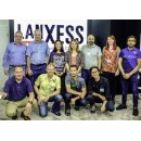 Students of creative leather technologies visit LANXESS's leather chemicals
