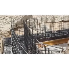 Corrosion resistant fiber-reinforced polymer rebar is an ideal replacement of steel reinforcement for the aggressive environment in the region. At only one-quarter the weight of steel, it is easy to transport and construct.