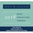 NTT Communications and Arkadin Honored in Frost & Sullivan 2018 Asia Pacific ICT Awards