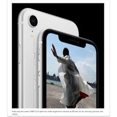 Featuring the same 12MP f/1.8 aperture wide-angle lens camera as iPhone XS for stunning photos and videos.