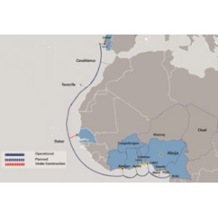 MainOne's current cable system comprises a 7,000km submarine cable, which was launched in 2010 and has landing stations in Nigeria, Ghana and Portugal.