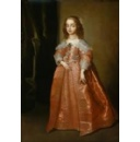 A Masterpiece by Sir Anthony Van Dyck: Portrait of Princess Mary, daughter of King Charles I of England