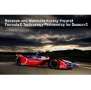 Renesas Electronics and Mahindra Racing Expand Formula E Technology Partnership for Season 5
