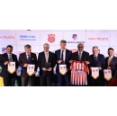 Tata Football Academy and Tata Trusts collaborate with Spanish football club Atlético de Madrid to develop Indian football