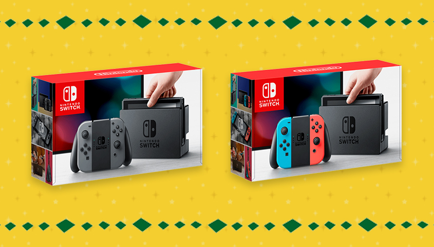 Cyber Monday Deal: buy Nintendo Switch and get $35 Nintendo eShop credit