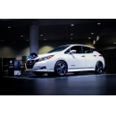 Nissan LEAF e+ takes the stage at CES