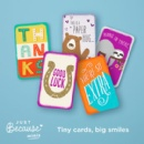 "Hallmark Introduces New ""Just Because"" Mini Greeting Cards"