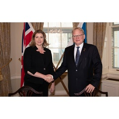 Penny Mordaunt, Secretary of State for Defence 