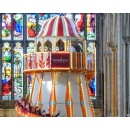 Helter-skelter ride installed inside Norwich Cathedral