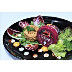 Tuna Infusions is sold in Thailand in two flavors, Thai chili and sun-dried tomato.