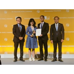 Huawei's Green 5G Power solution won the Global Industry Award for Sustainable Impact