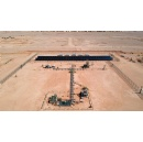 Using renewables to power unconventional gas wells in Wa'ad Al-Shamal