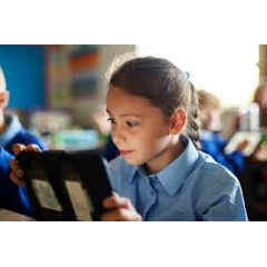Young students at Layton Primary School are able to explore the fundamentals of coding with iPad.