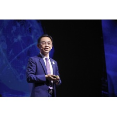 Ryan Ding speaking at the Global Mobile Broadband Forum 2019 in Zurich