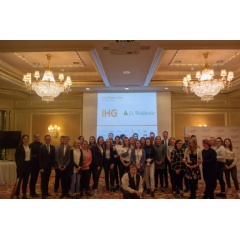 IHG bring their partnership with JA Worldwide to the Regent® Berlin, introducing young people to employment opportunities in the hospitality industry
