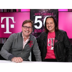 The future and the current CEO of T-Mobile US.